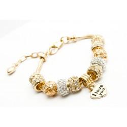 PANDORA zlatý náramok - naramoksmenom.eu d217e876edc